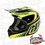 Troy Lee Designs Motocross Helm - AIR Delta - gelb: Größe Helm: XL (61-62cm)