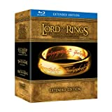 The Lord of the Rings: The Motion Picture Trilogy - Extended Edition (Bilingual) (The Fellowship of the Ring / The Two Towers / The Return of the King) [15-Disc Blu-ray]by Elijah Wood
