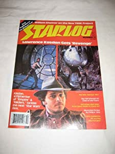 Starlog #51 Oct. 1981 Shatner Kasdan Batman Harryhausen Philip K. Dick by Inc. O'Quinn Studios
