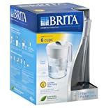 Brita Water Filtration System, Pitcher, Classic Model