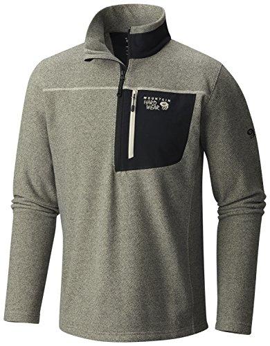 Mountain Hardwear Toasty Twill 1/2 Zip Jacket - Men's Fossil Large (Peak Performance Sweater compare prices)