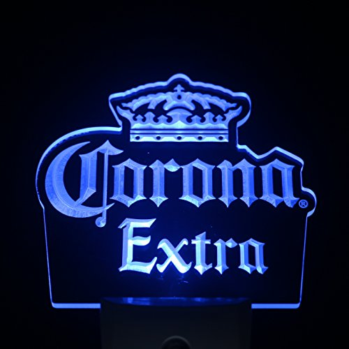 ws0212 Corona Extra Beer Day/ Night Sensor Led Night Light Sign