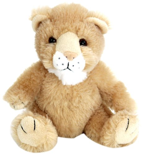 "Purr-Fection Tender Friend Cougar Sitting 6"" Plush, Tan"