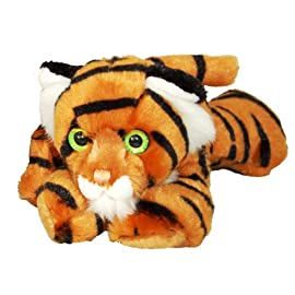 Cute Tiger Cub Soft Toy Lying
