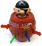 Brigamo 7028 - Pop Up Pirat, Geschicklichkeitsspiel für Kinder thumbnail