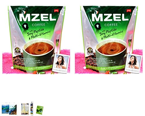 2 Packs Of : 1 Pack Fitne Mzel Instant Coffee For Men With Soy Peptide