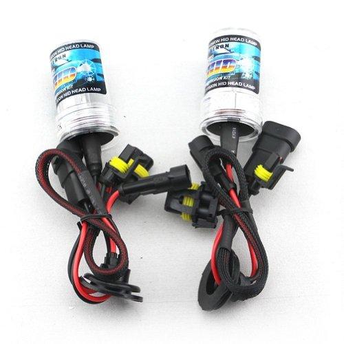 Zone Tech Set Of 2 Hid 9006 8000K Xenon Replacement Headlight Light Bulbs