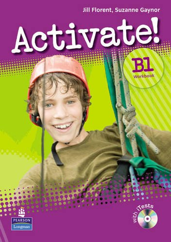 Activate! B1 Workbook without Key/CD-Rom Pack Version 2 Ms Jill Florent Ms Suzan