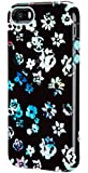 Speck Products SPK-A2597 CandyShell Inked Case for iPhone 5/5S, FlowerFade Black/Mykonos Blue