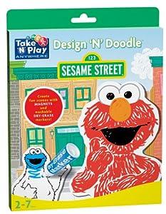Sesame Street Design 'N' Doodle - Sesame Street