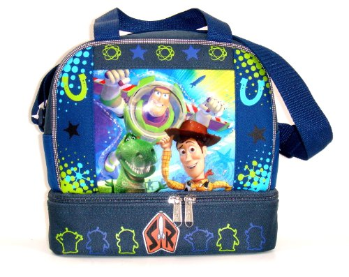 Disney Toy Story Insulated Double Compartment Lunch Tote