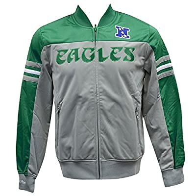 Philadelphia Eagles Mitchell & Ness Defenseman Track Jacket