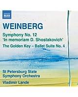 Mieczyslaw Weinberg : Symphonie n° 12