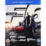 Fast and Furious 1 - 6 COMPLETE Box Set Blu-ray