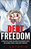 Debt Freedom: A Realistic Guide On How To Eliminate Debt, Including Credit Card Debt Forever (Eliminate Debt, Credit Card Debt, Financial Freedom, Financial Planning, Debt Roll Down)