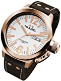 TW Steel CEO 45mm White Dial Mens Watch CE1017
