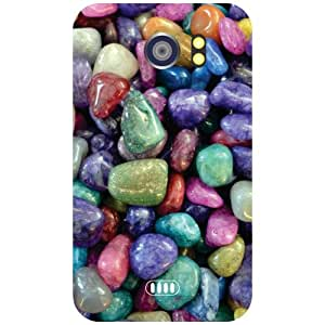 Micromax Canvas 2 A110 Back Cover - Mixed Pebbles Designer Cases