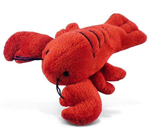 Puzzled Plush Magnet, Lobster