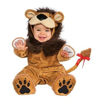 Jungle Lil Lion Romper Costume