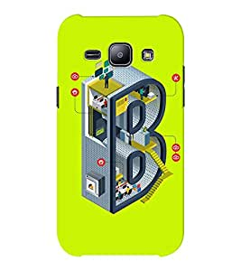 EPICCASE Complex B Mobile Back Case Cover For Samsung J1 Ace (Designer Case)