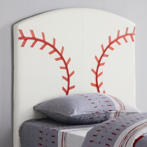 Cheap Twin Size Kid Headboard with Baseball Design (VF_AZ00-77569×35605)