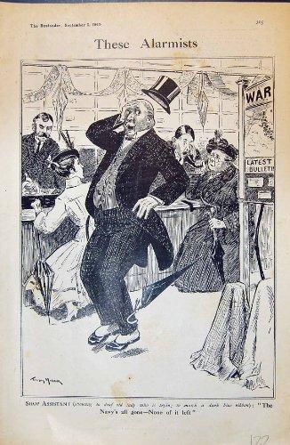 senora-mayor-del-ayudante-de-tienda-que-compra-el-bosquejo-azul-marino-maybank-1915-de-la-comedia-de