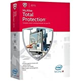 McAfee Total Protection  2015 3 PCs