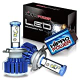 Hipro Power 9007 Dual Beam LED Headlight Kit - CREE XM-L2 80W 7,600LM 6000K Diamond White - 2 Yr Warranty