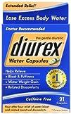Diurex Water Capsules 21-Count Pack of 3