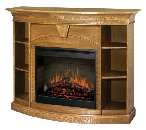 Dimplex Smp Bk170 O St Symphony Bookcase Electric Fireplace Oak