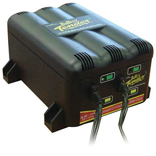 Battery Tender 022-0165-DL-WH 12-Volt 2-Bank