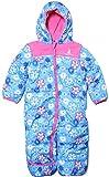 Rugged Bear - Baby Infant Girls Floral Soft Winter Snowsuit Pram/ Blue18