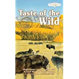 Taste of the Wild Dry Dog Food, Hi Prairie Canine Formula with Roasted Bison & Venison, 30-Pound Bag ~ Taste of the Wild
