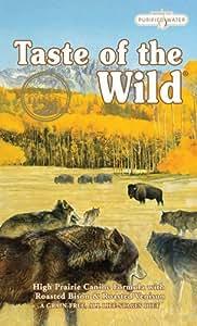 Taste of the Wild Dry Dog Food, Hi Prairie Canine Formula with Roasted Bison & Venison, 30-Pound Bag