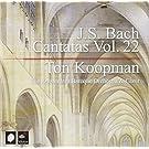 J.S. Bach : Cantatas, Vol. 22