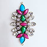 Satyam Kraft Stylish Designer Brooch - Design 10 (bro-79)