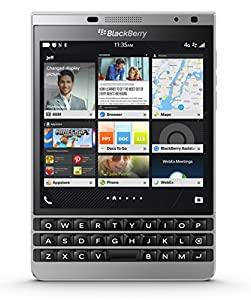 BlackBerry Passport Unlocked Phone - Retail Packaging - Silver