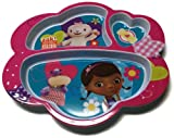 Disney Doc McStuffins Children's Divided Dinner Plate
