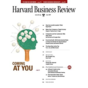 Harvard Business Review, June 2007 Periodical