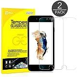 iPhone 6s Plus Protection écran , JETech® Compatible fonction 3D Touch 2-Pack Film Protection en Verre trempé écran protecteur ultra résistant Glass Screen Protector pour Apple iPhone 6 Plus et iPhone 6s Plus 5.5