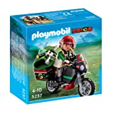 Playmobil 5237 Explorer with Motorcycle