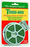 T&T Industries T17 100-Feet Twist-Ems Roll, Large, Green