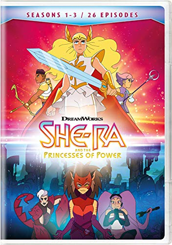 DVD : She-ra & The Princesses Of Power: Seasons 1-3 (4 Discos)
