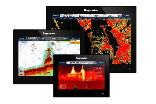 Raymarine-E70183-GS-Serie-GS95-Glas-Bridge-Multi-Touch-Multifunktionsdisplay-mit-optimalem-Sichtwinkel-aus-6-Uhr-229-cm-9-Zoll