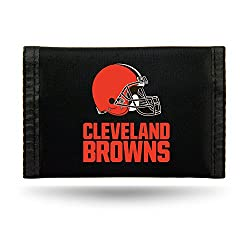Cleveland Browns Nylon Trifold Wallet