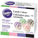 Wilton W1913R-1298 Candy Colors 1/4 O...