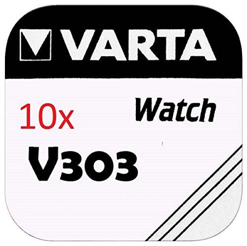 VARTA pILES bOUTON Lot de 10 - V303
