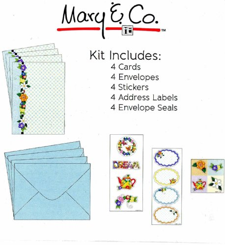Mary Co Card Making Kit 4 Pack With Cards Envelopes