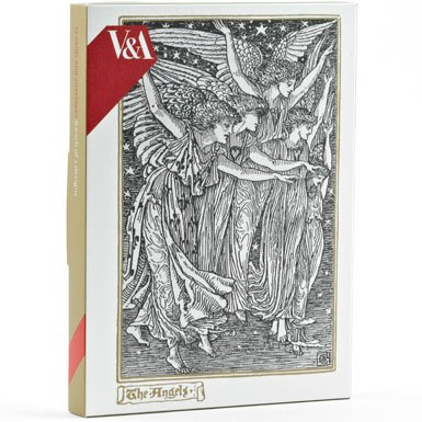Walter Crane Pack of 12 Luxury Christmas Cards||RF10F