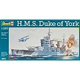 Revell 1:1200 HMS Duke of York Plastic Model Kit